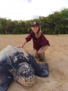 Rachel Arney, Field Director, 2015 Sea Turtle Program